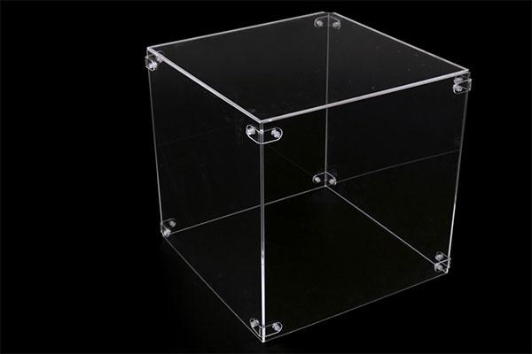 teca trasparente plexiglass